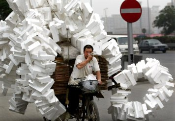 and-a-chinese-man-with-recyclable-rubbish-in-beijing