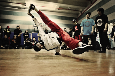 b boy living in asia