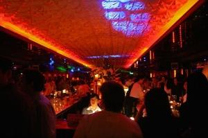 Buzzing bar scene, Suzie Wong's, Beijing